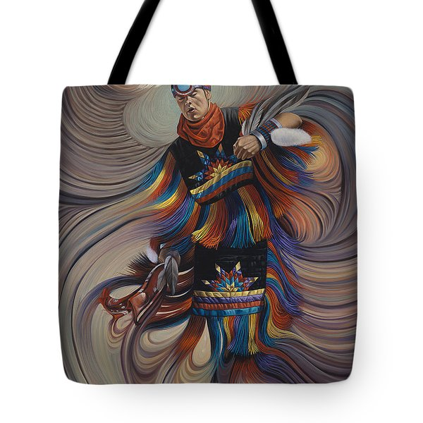 On Sacred Ground Series II Tote Bag