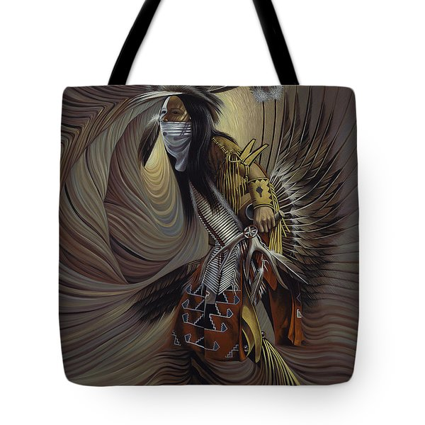 On Sacred Ground Series IIl Tote Bag