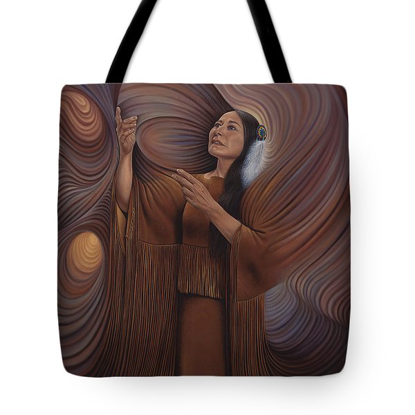 On Sacred Ground Series V Tote Bag