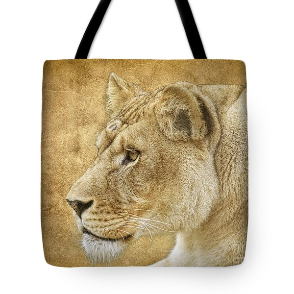 Tote Bag featuring the photograph On Target by Steve McKinzie