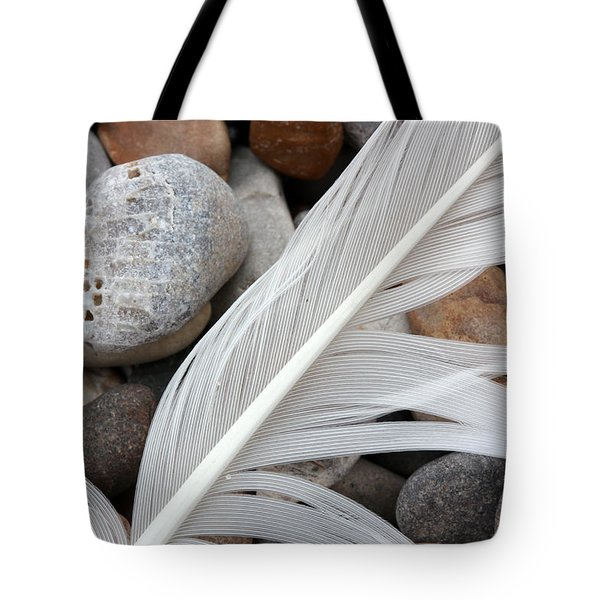 On The Beach 4 Tote Bag by Mary Bedy