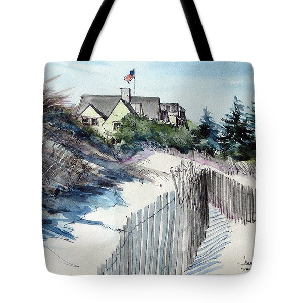 On The Beach Tote Bag by Joan Hartenstein
