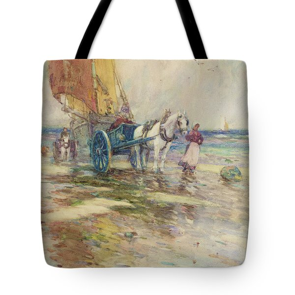On The Beach  Tote Bag by Oswald Garside