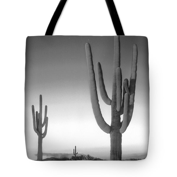 On The Border Tote Bag by Mike McGlothlen