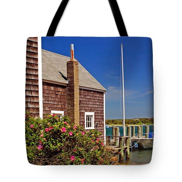 On The Cape Tote Bag by Joann Vitali