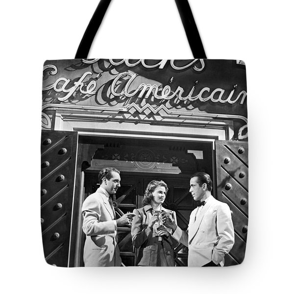 On The Casablanca Set Tote Bag