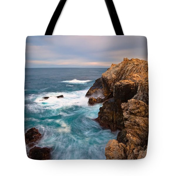 On The Cliff 2 Tote Bag