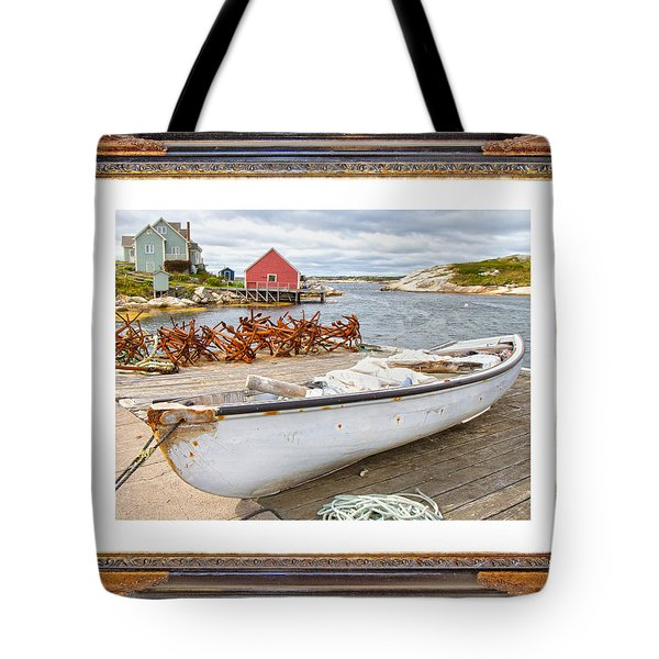 On The Dock Tote Bag by Betsy Knapp