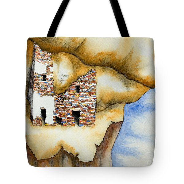 On The Edge Tote Bag by Jerry McElroy