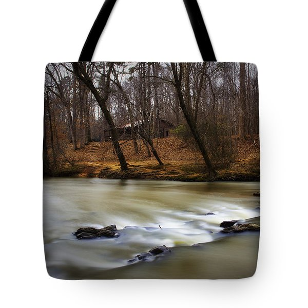Tote Bag featuring the photograph On The Eno River by Ben Shields