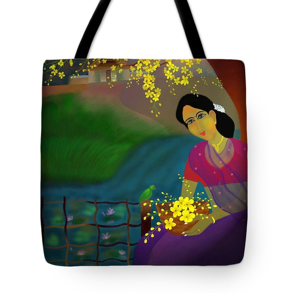 On The Eve Of Golden Shower Festival Tote Bag