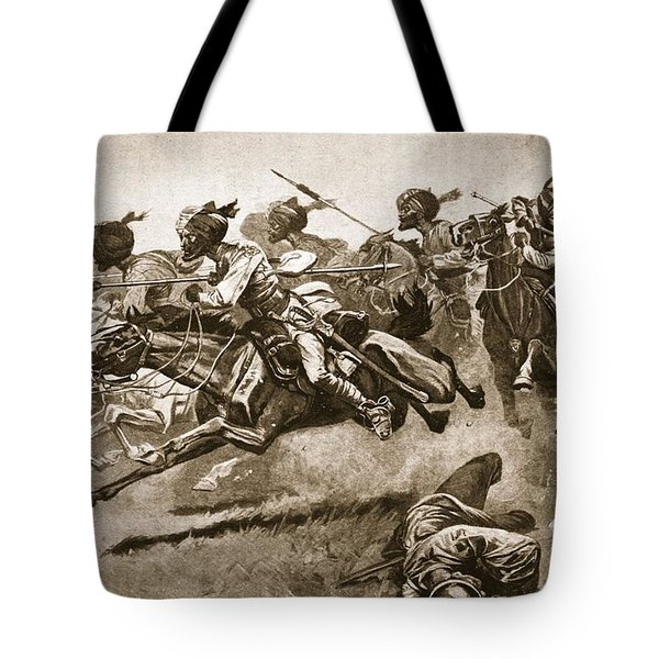 On The Expedition To Pao-ting-fu A Tote Bag by Stanley L. Wood
