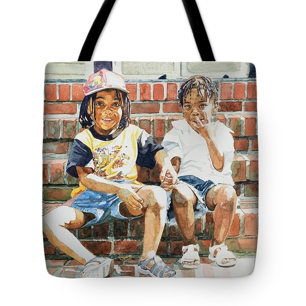 On The Front Step Tote Bag