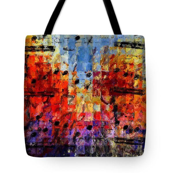 On The Grid 1 Tote Bag