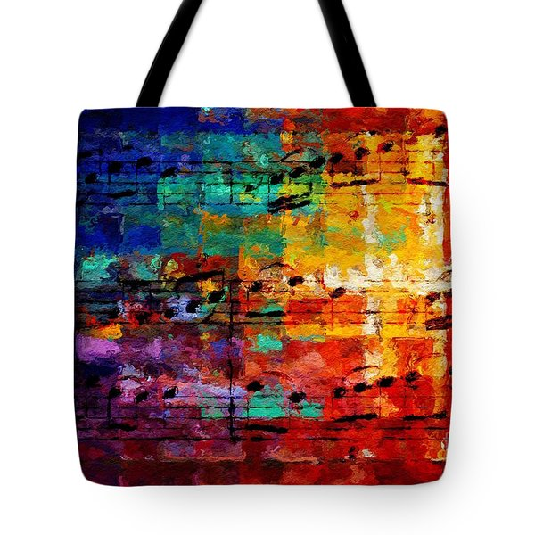 On The Grid 3 Tote Bag