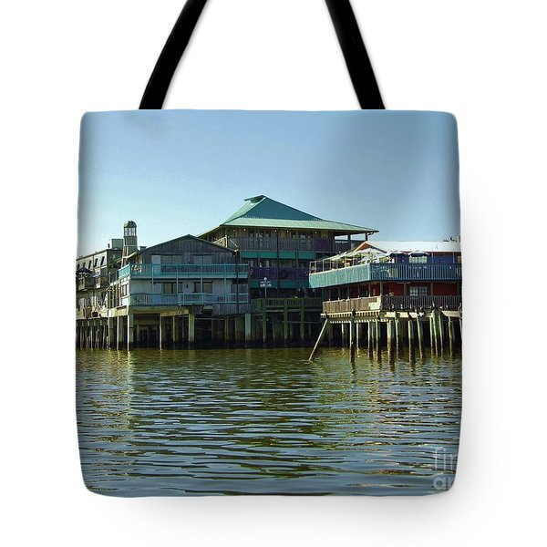 On The Gulf Tote Bag