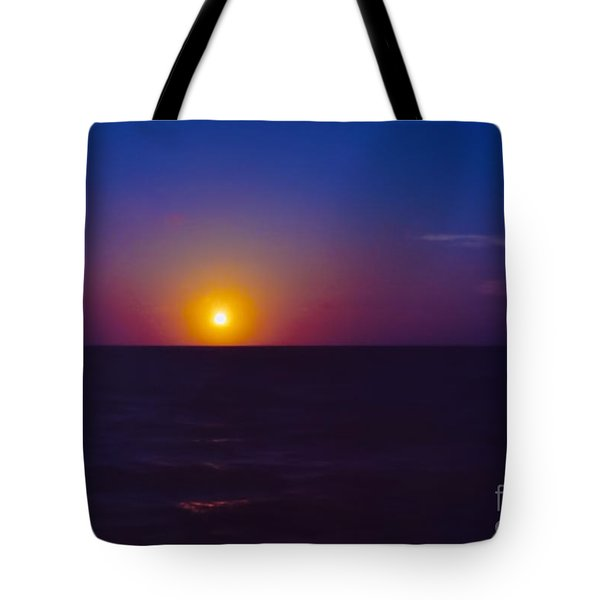 On The Horizon Tote Bag