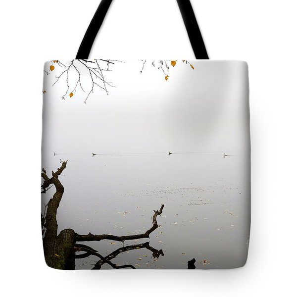 Tote Bag featuring the photograph On The Horizon  by Jacqueline Athmann