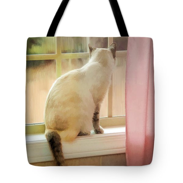 On The Inside Looking Out Tote Bag by Kenny Francis