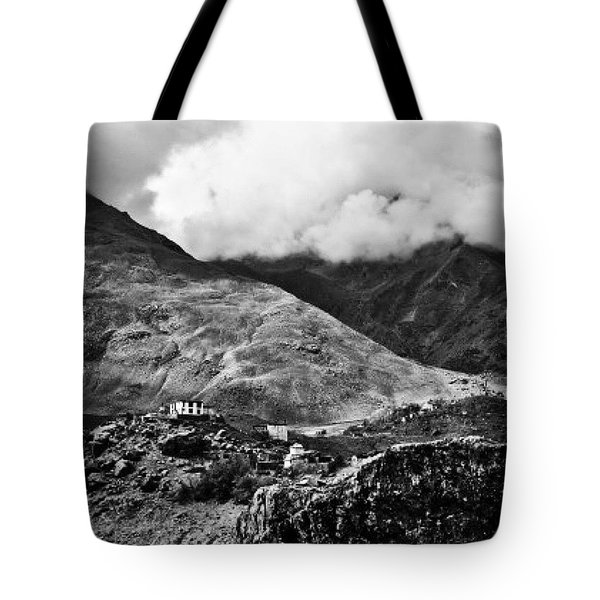 On The Mountainside Tote Bag