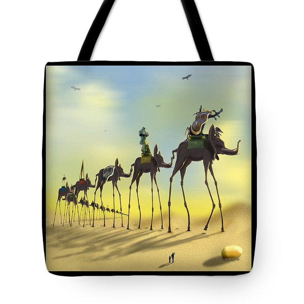On The Move 2 Without Moon Tote Bag