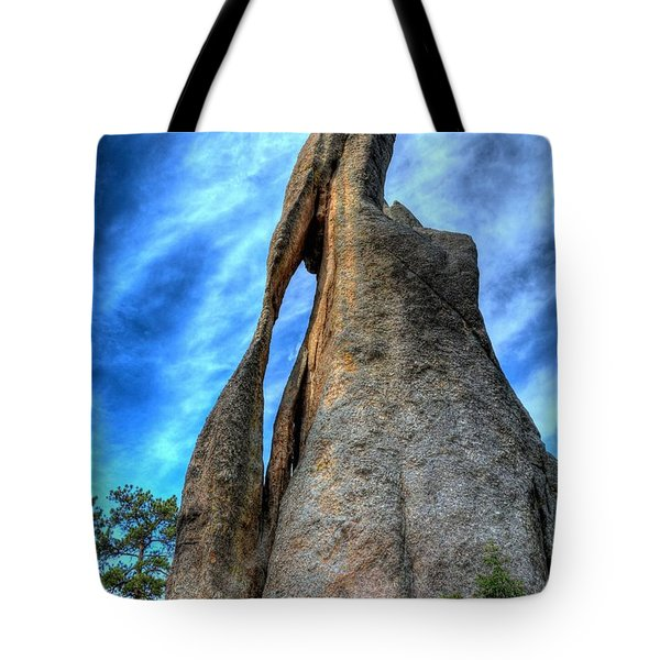 On The Needles Highway 3 Tote Bag