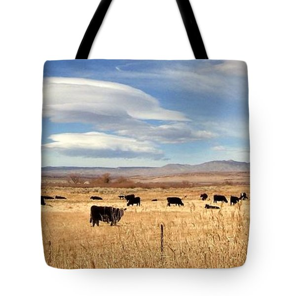 On The Open Lands Tote Bag