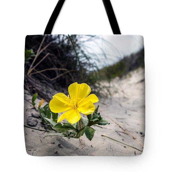 Tote Bag featuring the photograph On The Path by Sennie Pierson