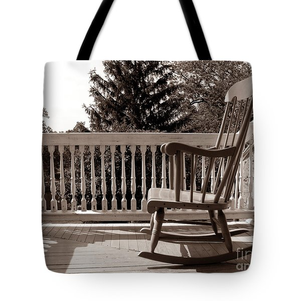 On The Porch Tote Bag