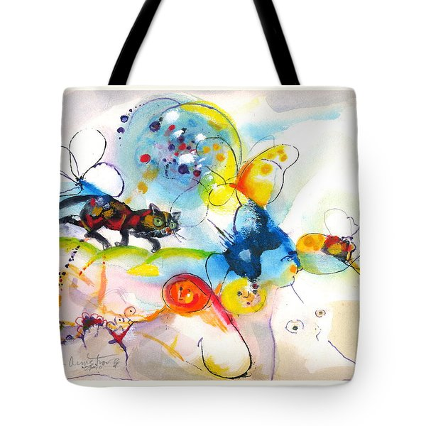 On The Prowl Tote Bag by Mary Armstrong