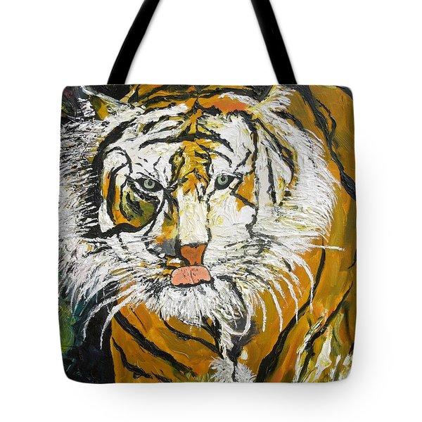 On The Prowl Tote Bag