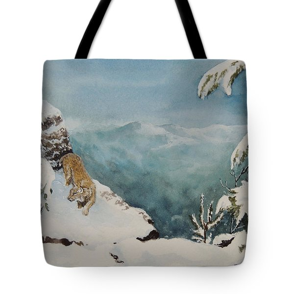 On The Prowl Sold Tote Bag