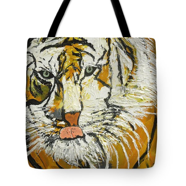 On The Prowl Zoom Tote Bag