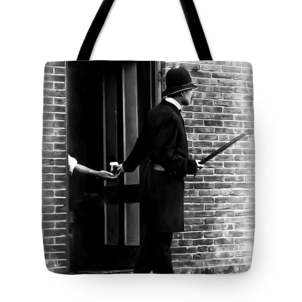 On The Qt Tote Bag by Bill Cannon