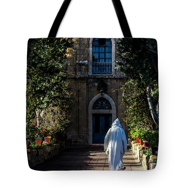 On The Right Path Tote Bag