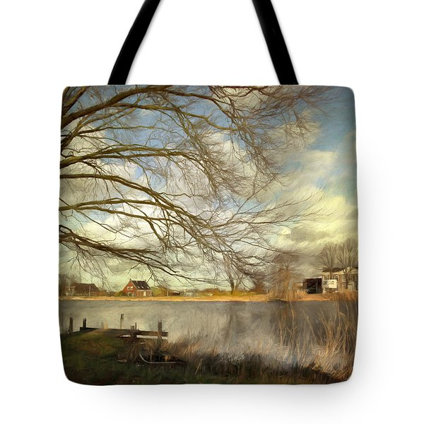 On The River Side Tote Bag
