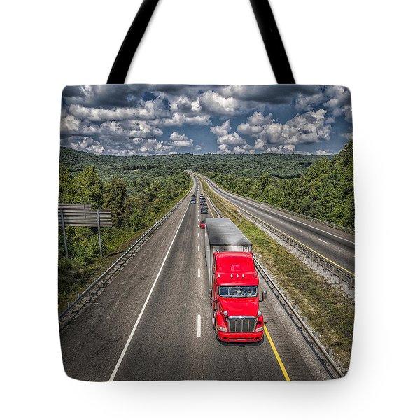 On The Road Again E61 Tote Bag