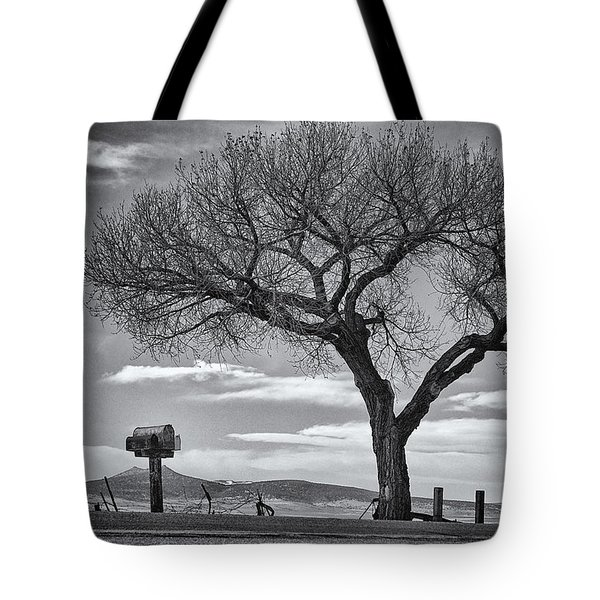 On The Road To Taos Tote Bag