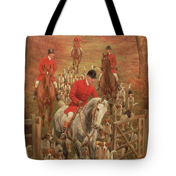 On The Scent, 1906 Tote Bag