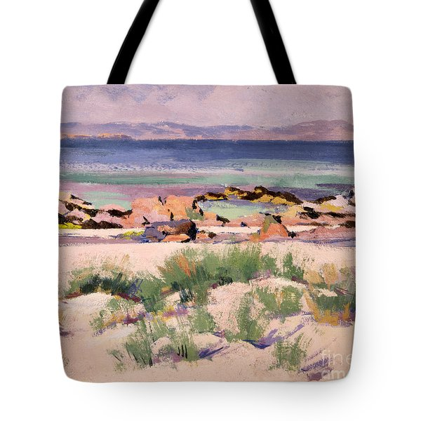 On The Shore  Iona  Tote Bag