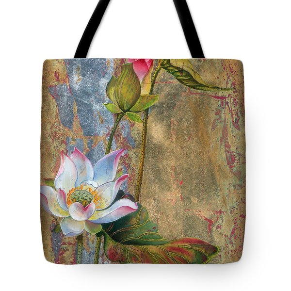 On The Silver Ray Tote Bag