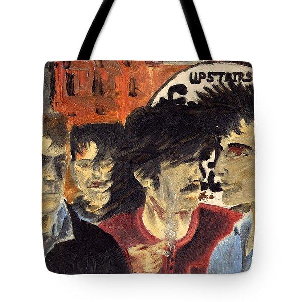 On The Street Tote Bag by Alan Hogan