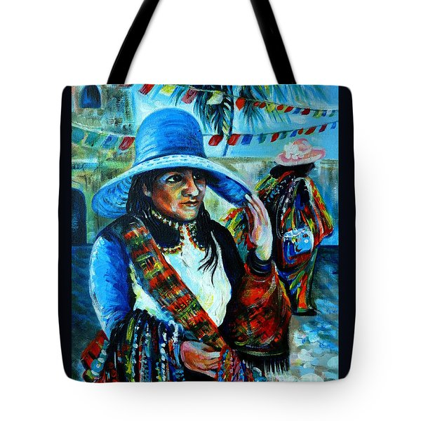On The Streets Of Bucerias. Part Two Tote Bag