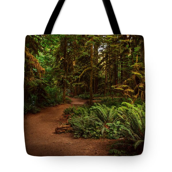 On The Trail To .... Tote Bag by Randy Hall