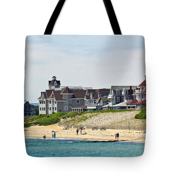 On The Vineyard Tote Bag by Michelle Wiarda