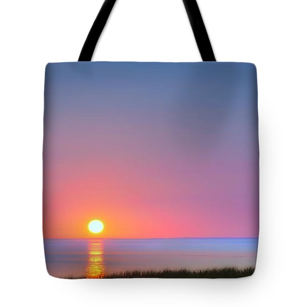 On The Water Tote Bag by Bill Wakeley