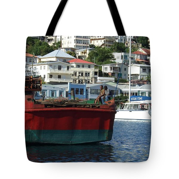 On The Water Tote Bag