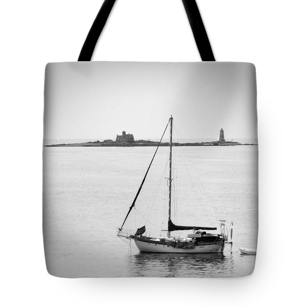 On The Water Tote Bag by Mike McGlothlen