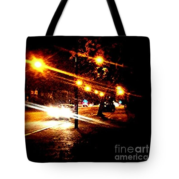 On The Way Home Tonight Tote Bag