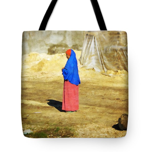 On The Way To Alexandria Tote Bag by Mary Machare
